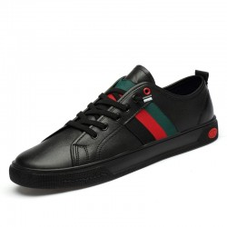 Fashionable casual shoes - genuine leather - breathable - lightweight
