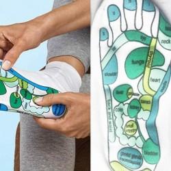 Akupressursocken - Physiotherapiemassage - Schmerzlinderung