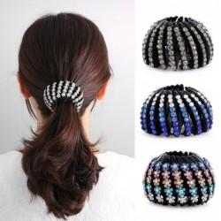 Crystal bun maker - ponytail decoration - hair clip - claw