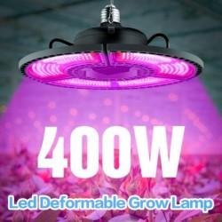 LED plant kweeklamp - lichtpaneel - volledig spectrum - E27 / E26 - 100W - 200W - 300W - 400W