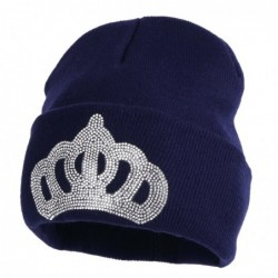 Navy blue beanie - with...