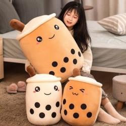 Bubble tea cup vorm speelgoed - pluche kussen