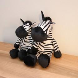Zebravormig speelgoed - pluche kussen