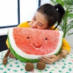 Pluchen speelgoed in de vorm van een watermeloen - kussen