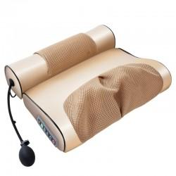 Elektrisches Massagekissen - Zervix- / Traktionsmassagegerät - für Nacken / unteren Rücken - Schmerzlinderung