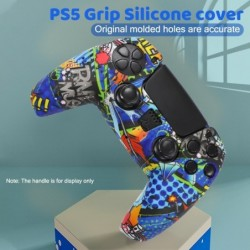 Siliconen hoes voor controller - voor PlayStation 5 / PS5