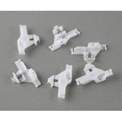 Plastic gear with screws - for LiteOn / BenQ drives - for Xbox 360 laser lens - 2 pieces