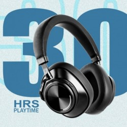 T7+ draadloze hoofdtelefoon - ruisonderdrukking - Bluetooth - met microfoon