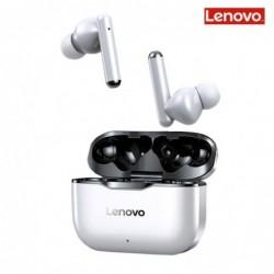 Lenovo LP1 - draadloze in-ear hoofdtelefoon - Bluetooth - waterdicht - ruisonderdrukking - met microfoon