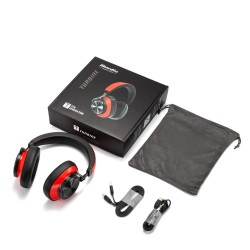 Bluedio 7th - wireless headphones - Bluetooth - noise cancelling - with microphone / voice control
