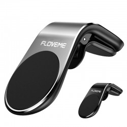 """Magnetic phone holder - for car - with clip - for 3.5"""" - 7"""" Smartphones"""