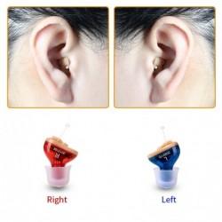 Q10 - hoortoestel - verstelbare microfoon - mini-oorgeluidsversterker - draadloos
