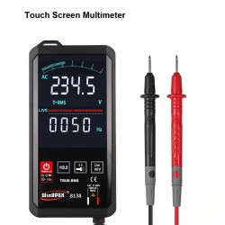 Automatic digital multimeter - touch screen - 6000 counts - intelligent scanning - NCV / True RMS measurement