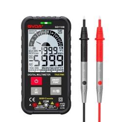 Digital multimeter - 600V - true RMS AC DC NCV - smart tester - Ohm / Hz / Voltage meter