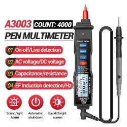 ANENG A3003 digital multimeter pen - 4000 counts - voltage resistance -