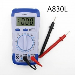 A830L digital multimeter - with LCD display