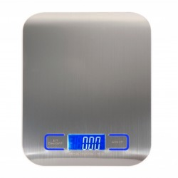 Ultra Slim Stainless Steel Kitchen Scale Weight Led