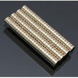 N52 Neodymium magneet cilinder 5 * 2mm - 100 stuks