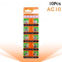 AG10 189 LR54 155V SR54 389 189 LR1130 alkaline cell batterij knoopbatterij 10 stuks