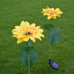 Sunflower shaped - solar...