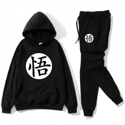 Sport tracksuit - pants / hoodie - with Chinese letters