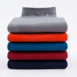 Velvet turtleneck / sweater - with fleece lining