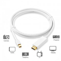 Mini DisplayPort - Thunderbolt HDMI - converter naar HDMI - kabel 3m