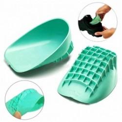 Siliconen hielsteun - voor schoenen - verlichting van pijn in de voet - anti-vermoeidheid