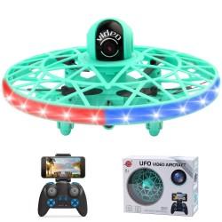 JJRC F26 - WiFi - FPV - 720P HD Camera - Sensing Flying Ball - 2.4G - RC Drone Quadcopter - Green