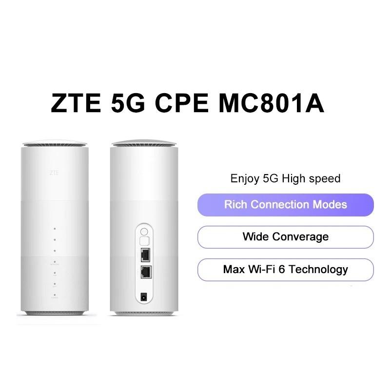 ZTE MC801A CPE - WiFi router - 5G - SDX55