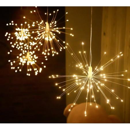 Christmas garland - decorative string lights - fireworks lights - 3M - 500 LED