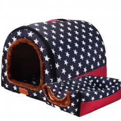 Opvouwbaar dierenhok - draagbare zachte kennel - bed - voor honden / katten