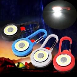 LED-karabijnhaak - waarschuwingslamp - voor wandelen / kamperen / nachtwandelen