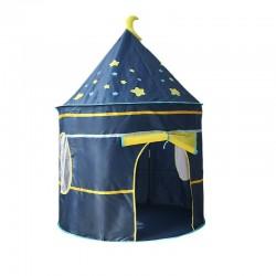 3 in 1 kinderspeelhuis - tent / mat / ballenbad / kruiptunnel
