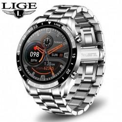 LIGE - Smart Watch - Bluetooth - hartslagmeting - muziekbediening - waterdicht