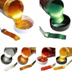 Metallic acrylverf - waterdicht - voor het kleuren van beeldhouwwerken / kleding / graffiti