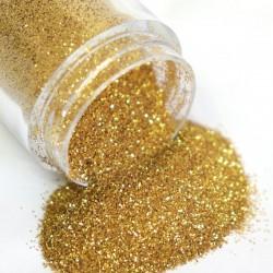 Nagel glitter poeder - goud/zilver / mix - 10ml