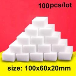 Melamine spons - voor reiniging - voor keuken / badkamer / schoenen - 100 stuks
