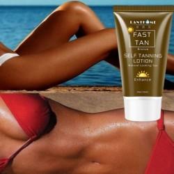 Zelfbruinende lotion - bronzer - snelle kleuring - voor gezicht / lichaam - 50ml