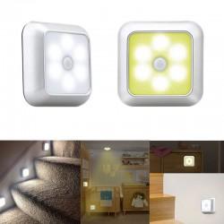 LED lamp - met PIR bewegingssensor - voor wand / meubel / trap - 2 stuks