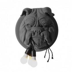 Scandinavische stijl - Bulldog's hoofd met bollen - LED wandlamp