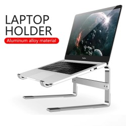 Laptop / tablet standaard - aluminium - anti-slip