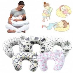 Borstvoedingskussen - met babyhoofdbeschermingskussen - U-vormig
