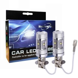 H3 30W CREE LED autolampen 1400 Lumen - lampjes - 2 stuks