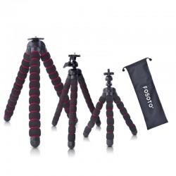 Mini statief octopus - flexibele spinpoten - voor camera / telefoon / GoPro / Canon / Nikon / Sony / DSLR