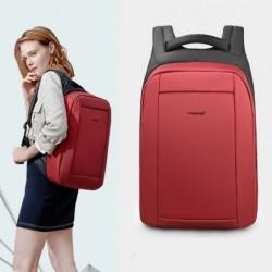 Modieuze rugzak - anti-diefstal - USB-oplaadpoort / koptelefoonaansluiting - voor 15,6 inch laptop - waterdicht