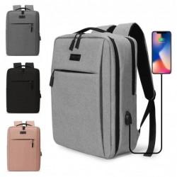 Trendy laptoptas - rugzak - met USB-oplaadpoort - waterdicht