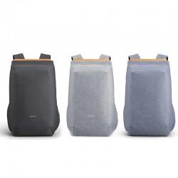 Modischer Rucksack - Tasche für 15'' Laptop - mit USB-Ladeanschluss - wasserdicht