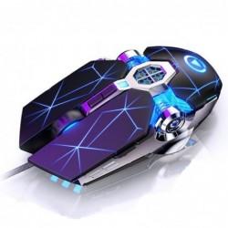 Professionele optische gamingmuis - 6 knoppen - bedraad - 3200 DPI - LED - stil