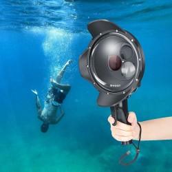 Duikkoepelpoort - waterdichte filterbehuizing - omschakelbaar - voor GoPro Hero 7 6 5 Black